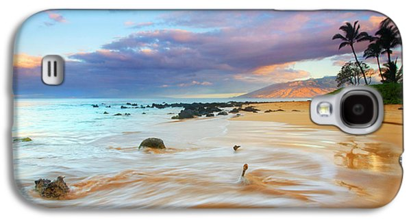 Beach Landscape Galaxy S4 Cases - PAradise Dawn Galaxy S4 Case by Mike  Dawson