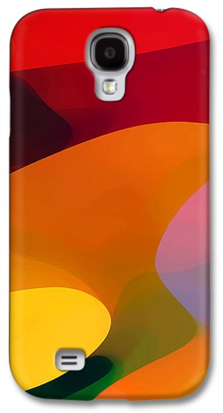 Abstract Forms Galaxy S4 Cases - Paradise Found 1 Panel C Galaxy S4 Case by Amy Vangsgard