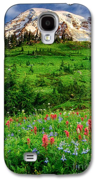 Harmonious Galaxy S4 Cases - Paradise Galaxy S4 Case by Inge Johnsson