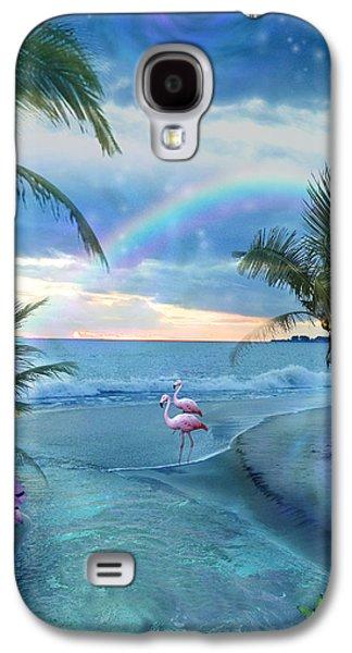 Alixandra Mullins Galaxy S4 Cases - Paradise Ocean Galaxy S4 Case by Alixandra Mullins