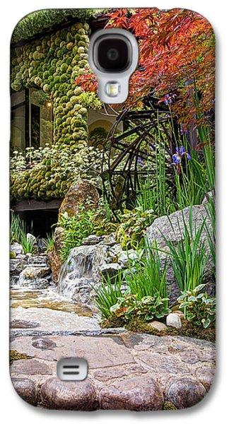 Paradise On Earth - Japanese Garden 2 Galaxy S4 Case by Gill Billington