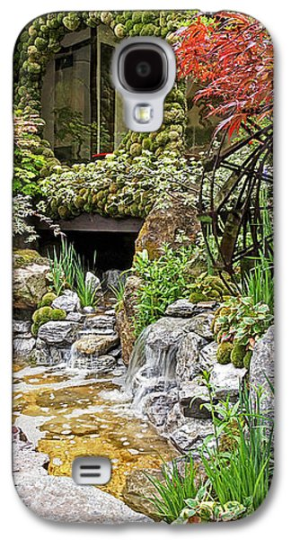 Spring Scenery Galaxy S4 Cases - Paradise On Earth - Japanese Garden Galaxy S4 Case by Gill Billington