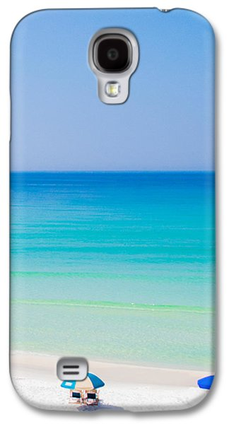 Beach Chair Galaxy S4 Cases - Paradise Galaxy S4 Case by Shelby  Young