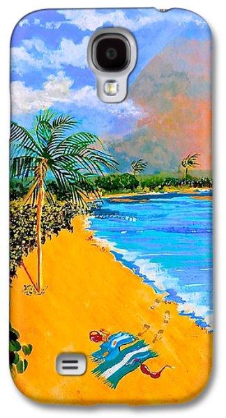 Boardroom Mixed Media Galaxy S4 Cases - Paradise Galaxy S4 Case by Susan Robinson