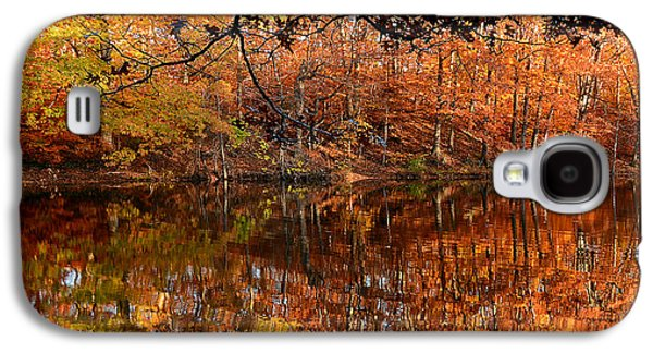 Reds Of Autumn Galaxy S4 Cases - Paradiso Galaxy S4 Case by Lourry Legarde