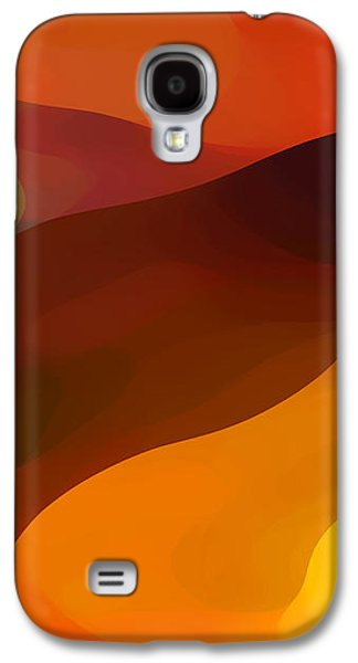 Abstract Forms Galaxy S4 Cases - Paradisr Found 1 Panel B Galaxy S4 Case by Amy Vangsgard