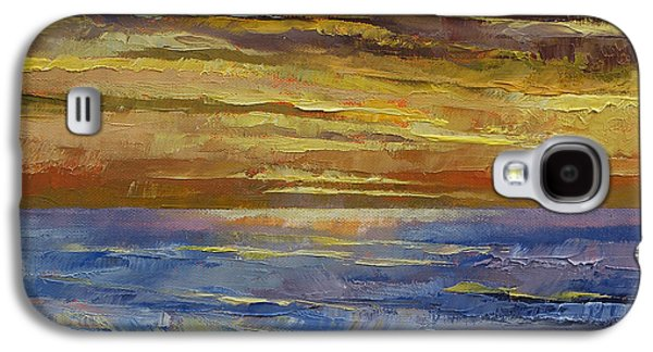 Parfait Sunset Galaxy S4 Case by Michael Creese