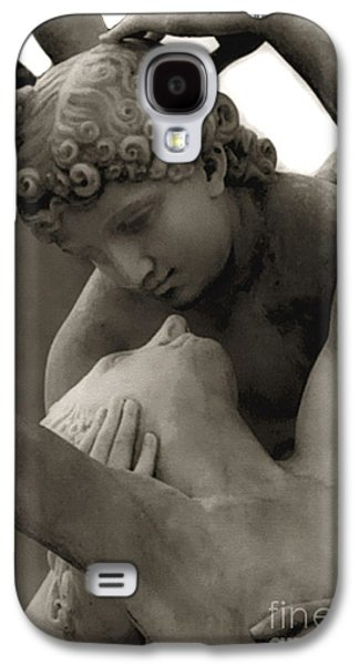 Paris - Eros And Psyche Romantic Sculpture Galaxy S4 Case by Kathy Fornal