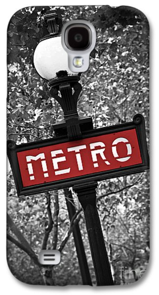 City Streets Galaxy S4 Cases - Paris metro Galaxy S4 Case by Elena Elisseeva