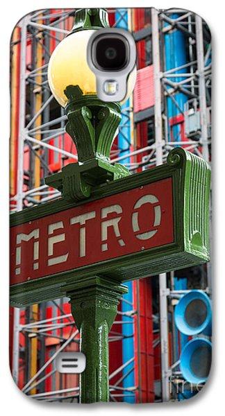 Europa Galaxy S4 Cases - Paris Metro Galaxy S4 Case by Inge Johnsson