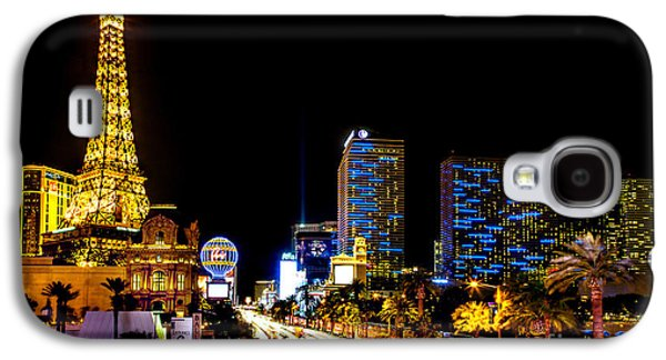 Lounge Galaxy S4 Cases - Welcome to Vegas Galaxy S4 Case by Az Jackson