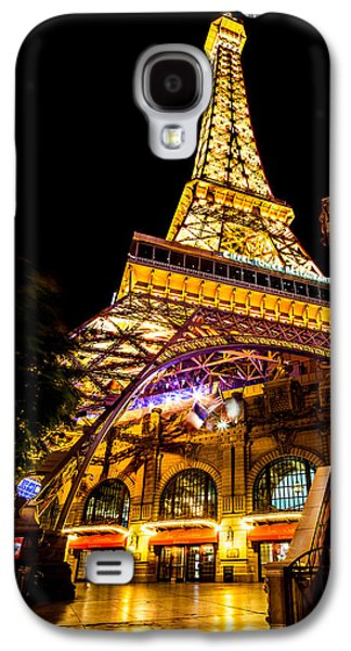 Las Vegas Galaxy S4 Cases - Paris Under The Tower Galaxy S4 Case by Az Jackson