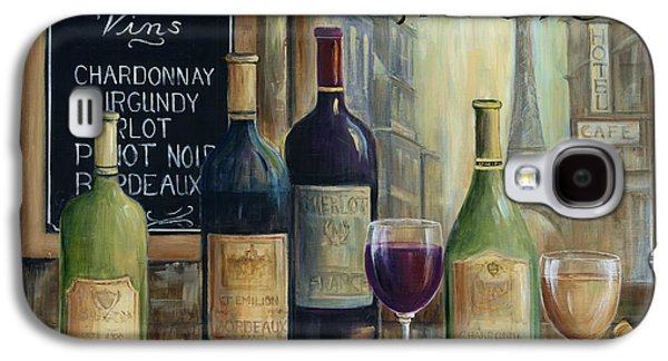 Wine Tasting Galaxy S4 Cases - Paris Wine Tasting Galaxy S4 Case by Marilyn Dunlap