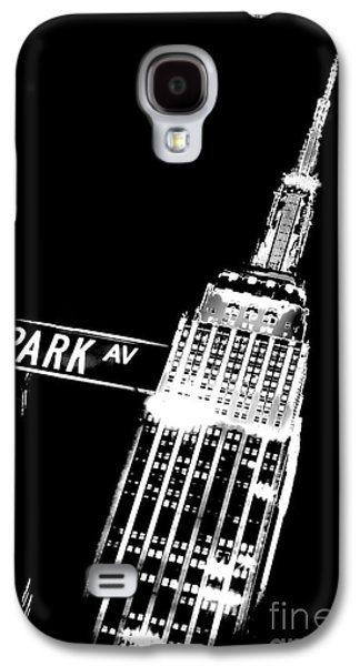 Midtown Galaxy S4 Cases - Park Avenue Galaxy S4 Case by Az Jackson