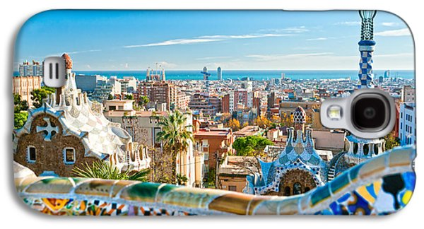 Recently Sold -  - Fantasy Photographs Galaxy S4 Cases - Park Guell - Barcelona Galaxy S4 Case by Luciano Mortula