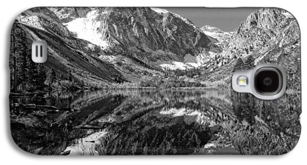 Recently Sold -  - Landscapes Photographs Galaxy S4 Cases - Parker Lake Black and White Galaxy S4 Case by Scott McGuire