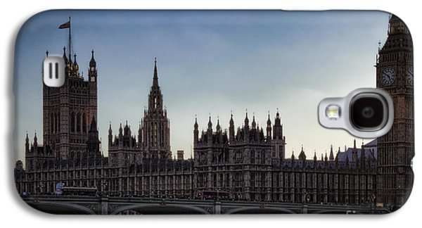 River Scenes Photographs Galaxy S4 Cases - Parliament at the Golden Hour Galaxy S4 Case by Joan Carroll