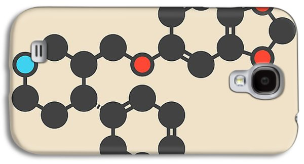 Paroxetine Antidepressant Drug Molecule Galaxy S4 Case by Molekuul