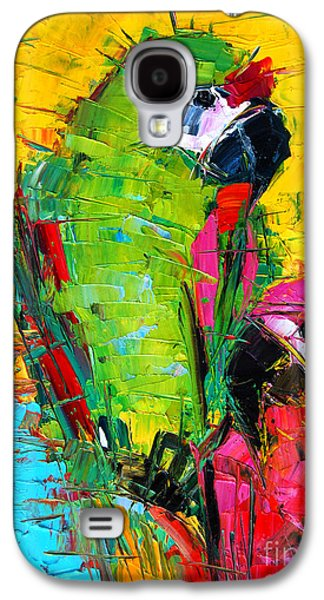 Parrot Lovers Galaxy S4 Case by Mona Edulesco