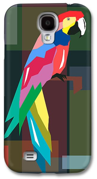 Animation Galaxy S4 Cases - Parrot Galaxy S4 Case by Mark Ashkenazi
