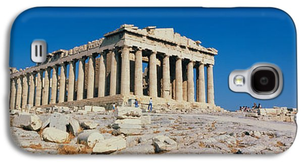 Reconstruction Galaxy S4 Cases - Parthenon Athens Greece Galaxy S4 Case by Panoramic Images