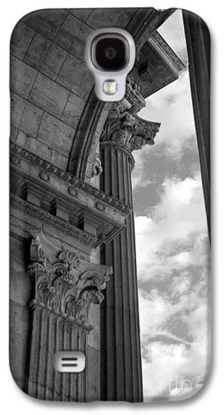Cornices And Columns Galaxy S4 Case by Jennifer Apffel