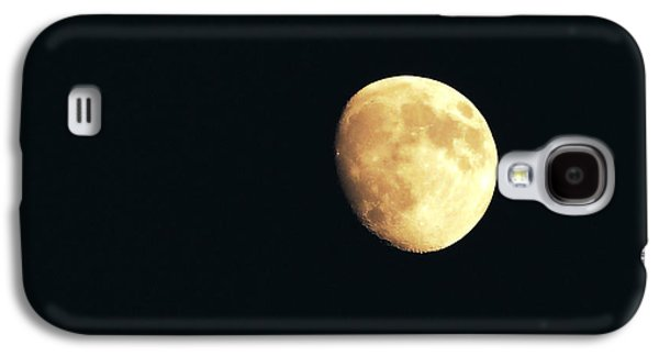 Component Photographs Galaxy S4 Cases - Partial moon Galaxy S4 Case by Claudia Mottram