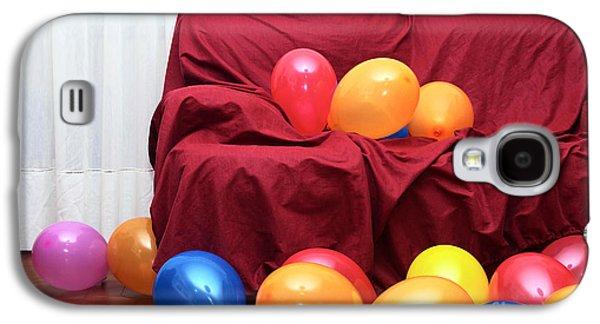 Helium Galaxy S4 Cases - Party Balloons Galaxy S4 Case by Carlos Caetano