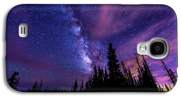 Pine Tree Galaxy S4 Cases - Passing Hours Galaxy S4 Case by Chad Dutson