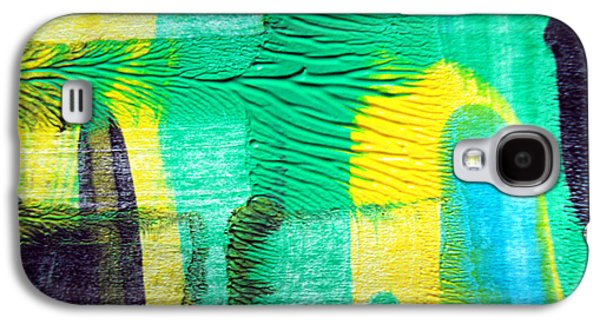 Abstract Digital Drawings Galaxy S4 Cases - Passing Time Acrylic Mind Image  Galaxy S4 Case by Sir Josef  Putsche