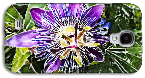 Passion Fruit Flower Galaxy S4 Case by Nato  Gomes