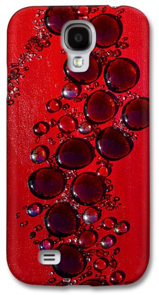 Modern Abstract Galaxy S4 Cases - Passions Angel Galaxy S4 Case by Donna Blackhall