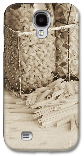 Spaghetti Galaxy S4 Cases - Pasta Sepia Toned Galaxy S4 Case by Edward Fielding