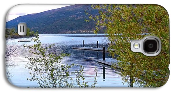 Sailboats Docked Galaxy S4 Cases - Pastel Reflections Galaxy S4 Case by Will Borden