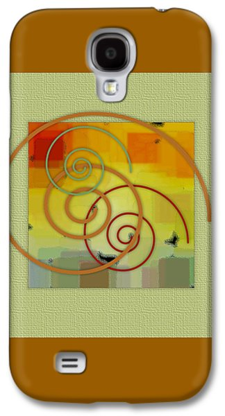 Patchwork II Galaxy S4 Case by Ben and Raisa Gertsberg