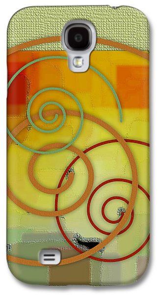 Ben Gertsberg Digital Art Galaxy S4 Cases - Patchwork II Galaxy S4 Case by Ben and Raisa Gertsberg