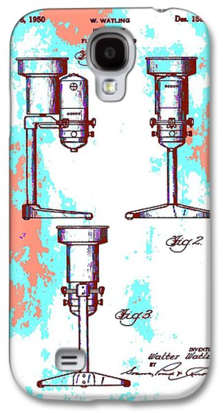 Owner Mixed Media Galaxy S4 Cases - Patent Art Blender Galaxy S4 Case by Dan Sproul