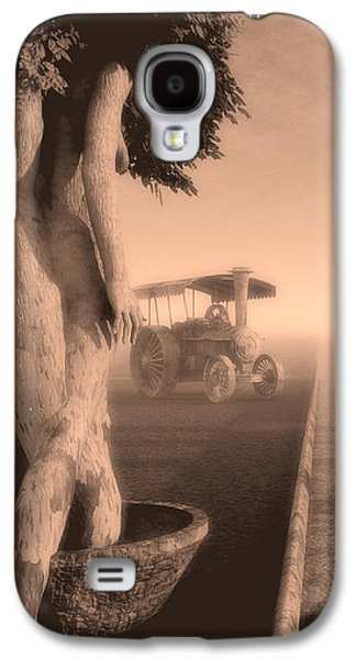 Surreal Landscape Galaxy S4 Cases - Path In Life Galaxy S4 Case by Bob Orsillo