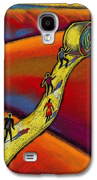 Path Galaxy S4 Case by Leon Zernitsky