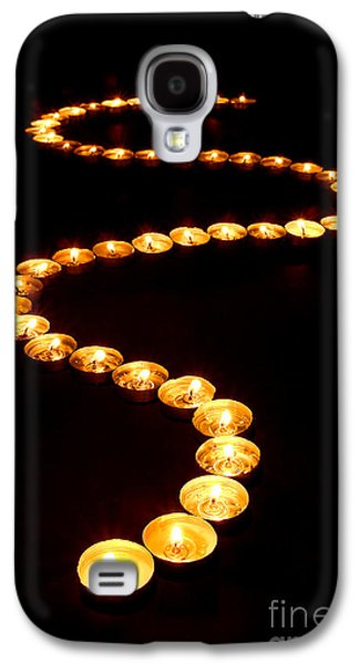 Meditative Photographs Galaxy S4 Cases - Path of Light Galaxy S4 Case by Olivier Le Queinec