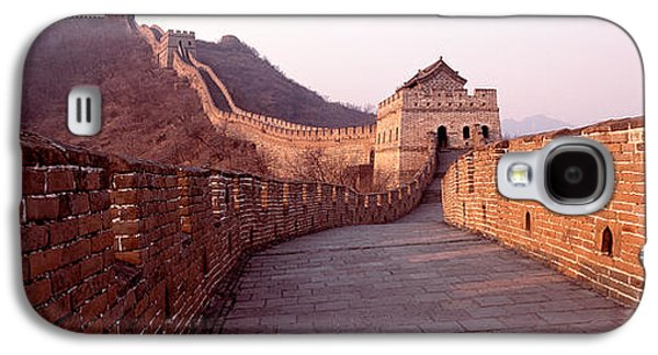 Separation Galaxy S4 Cases - Path On A Fortified Wall, Great Wall Of Galaxy S4 Case by Panoramic Images