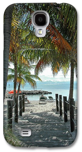 The Photographs Galaxy S4 Cases - Path To Smathers Beach - Key West Galaxy S4 Case by Frank Mari