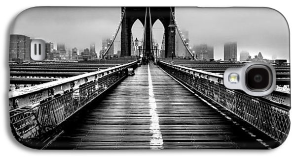 Long Street Galaxy S4 Cases - Path To The Big Apple Galaxy S4 Case by Az Jackson