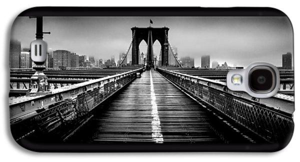 Path To The Big Apple Galaxy S4 Case by Az Jackson