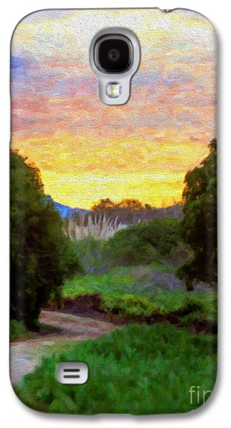 Religious Galaxy S4 Cases - Pathway to Heaven Galaxy S4 Case by David Millenheft