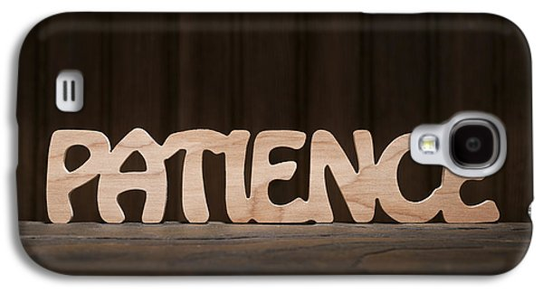 Positive Attitude Galaxy S4 Cases - Patience Galaxy S4 Case by Donald  Erickson