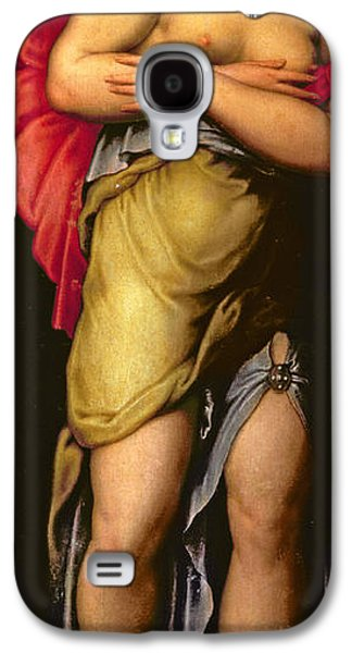 Renaissance Paintings Galaxy S4 Cases - Patience Galaxy S4 Case by Giorgio Vasari