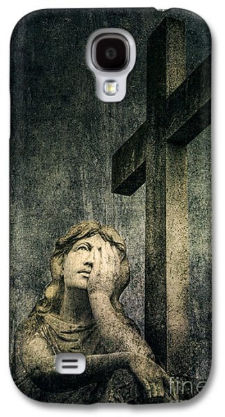 Mercy Galaxy S4 Cases - Patience in Pain Galaxy S4 Case by Andrew Paranavitana