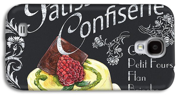 Design Paintings Galaxy S4 Cases - Patisserie and Confiserie Galaxy S4 Case by Debbie DeWitt