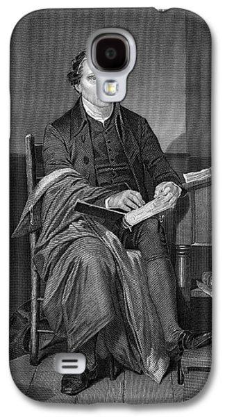 Orator Paintings Galaxy S4 Cases - Patrick Henry Galaxy S4 Case by Historic Image